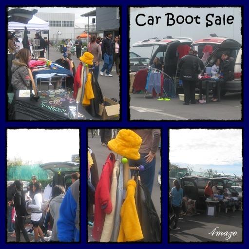 car boot sale montage