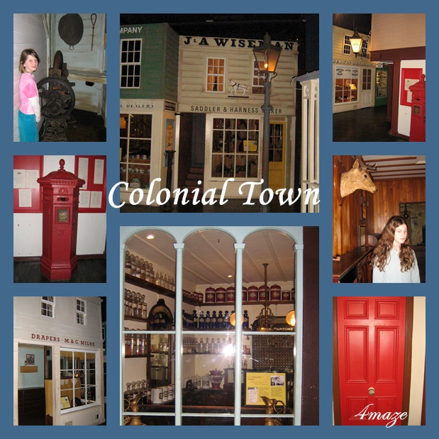 colonial montage
