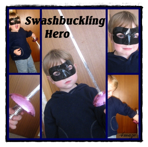 swashbuckling hero