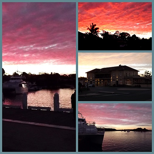 sunset Huskisson