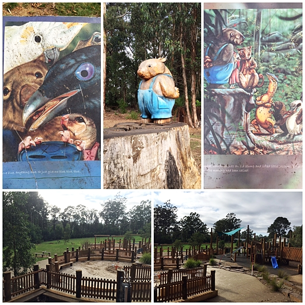 kinglake collage