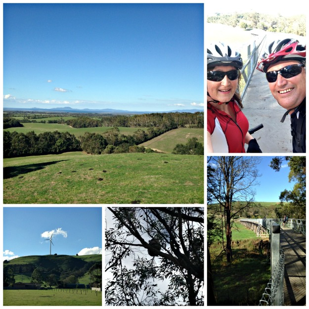 Southern Rail Trail collage 1